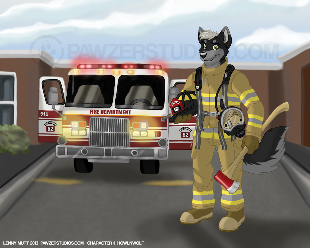 Tex The Firefighter
