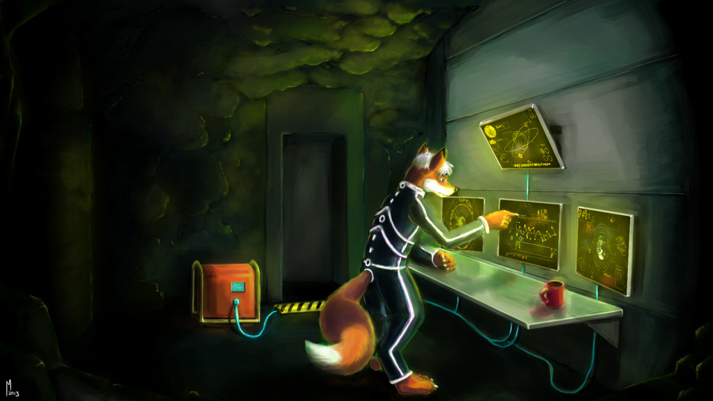 In the Bunker by Miktar