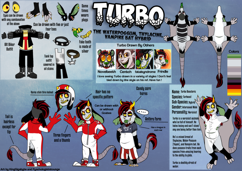 Ref Sheet: Turbo