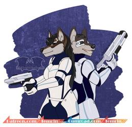 Furaltiy - Arcten - Scifi Wolves