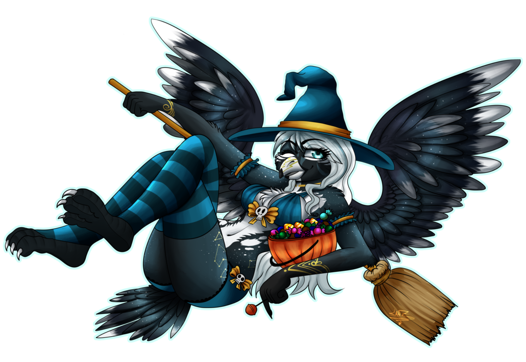 Most recent image: YCH Halloween fullshade