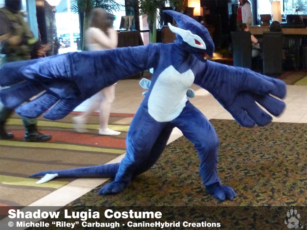 Shadow Lugia Costume [2010]