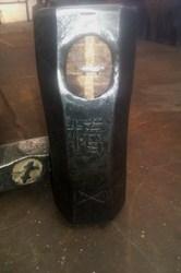 hand made sledge hammer detail