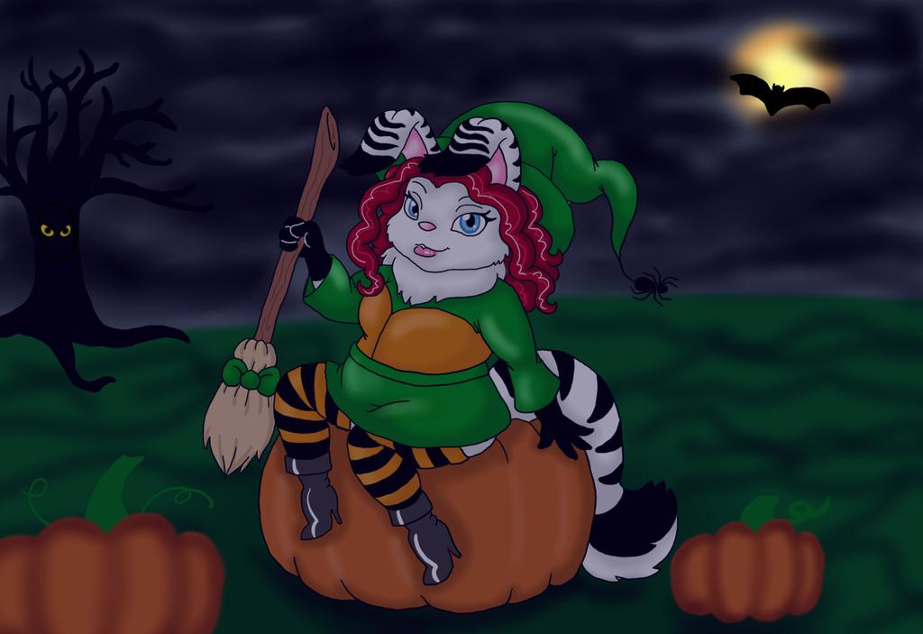 Most recent image: Halloween Chibi Witch Bun!