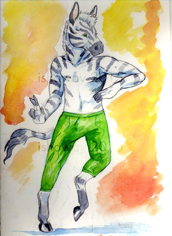 SeanZ - Watercolor sketch