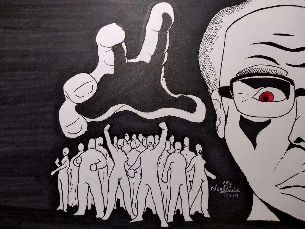 Inktober 2nd 2019: Tlatelolco Massacre
