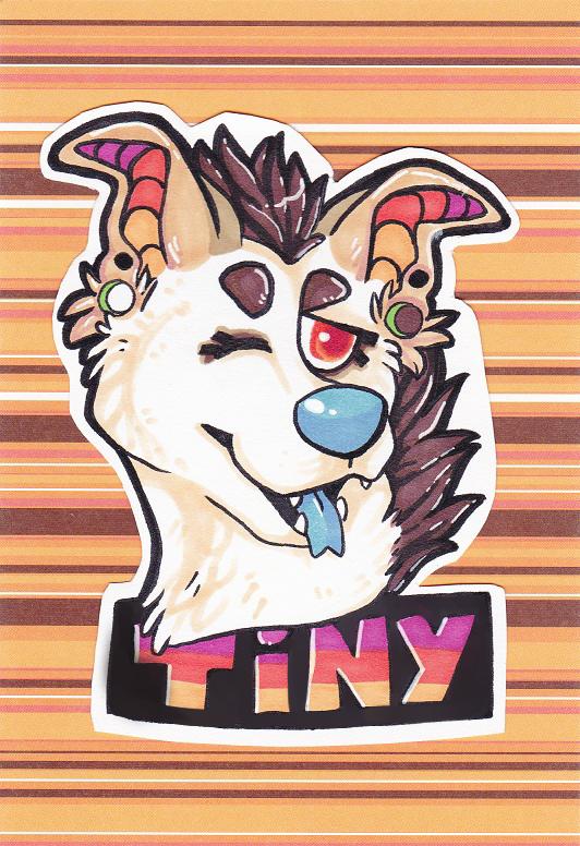 Tiny badge