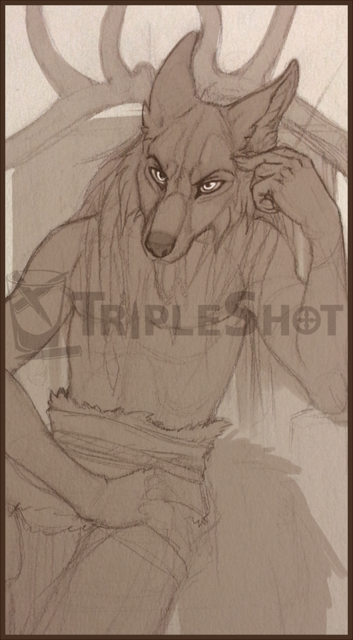 Skaldic Wolf (Preview/WIP)