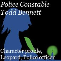 Police Constable Todd Bennett