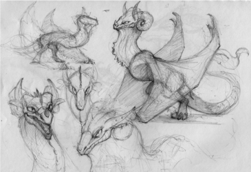Ballpoint Sketches #1