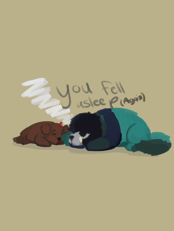 Fell asleep again