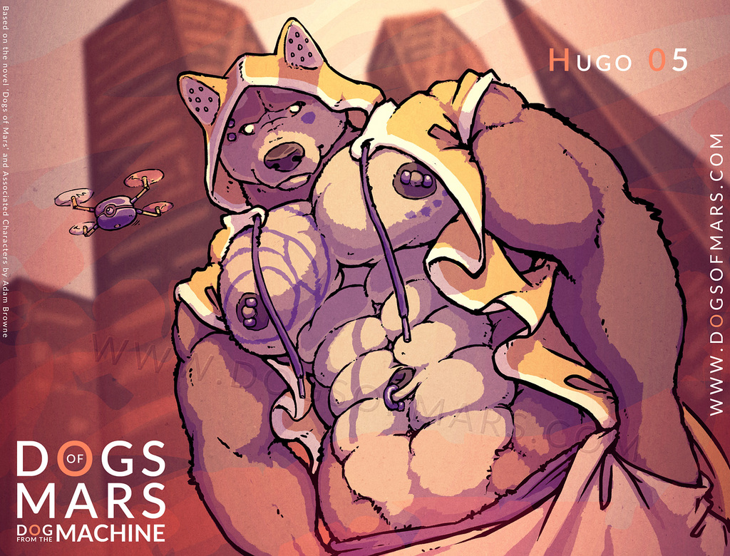 Most recent image: DOGS of MARS - Hugo Five