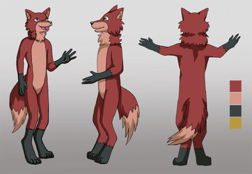 fox reference sheet commission