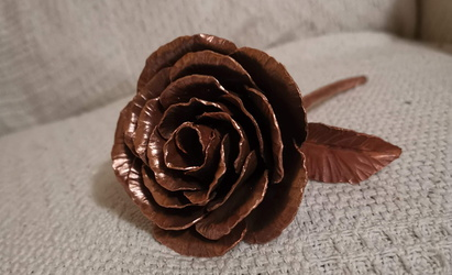 "Copper ""forever"" rose"