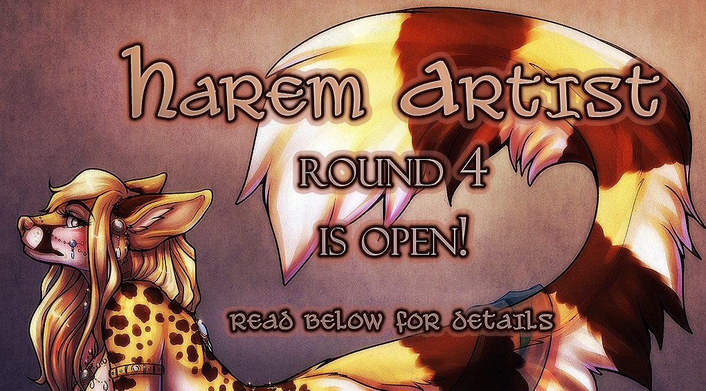 Harem Artist Series is now Closed