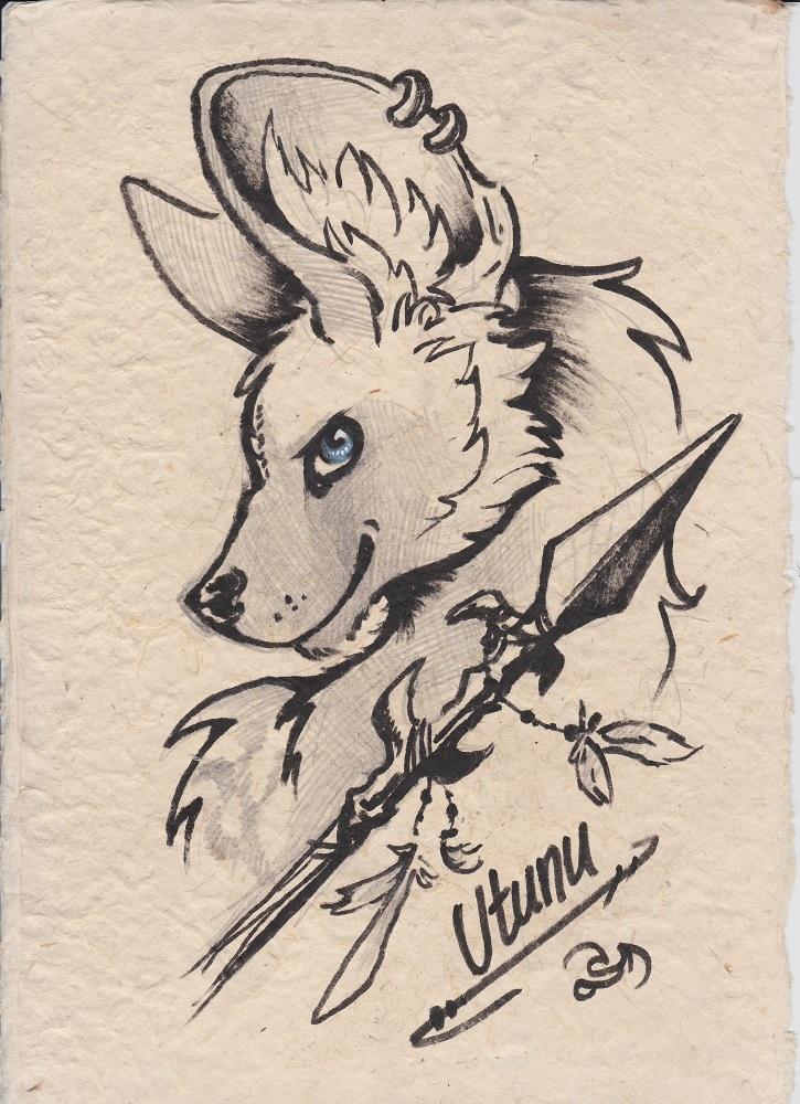 'Utunu Sketch' by Spiderdragon