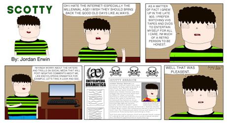 Scotty Comic Strip #2 (January 8, 2020)