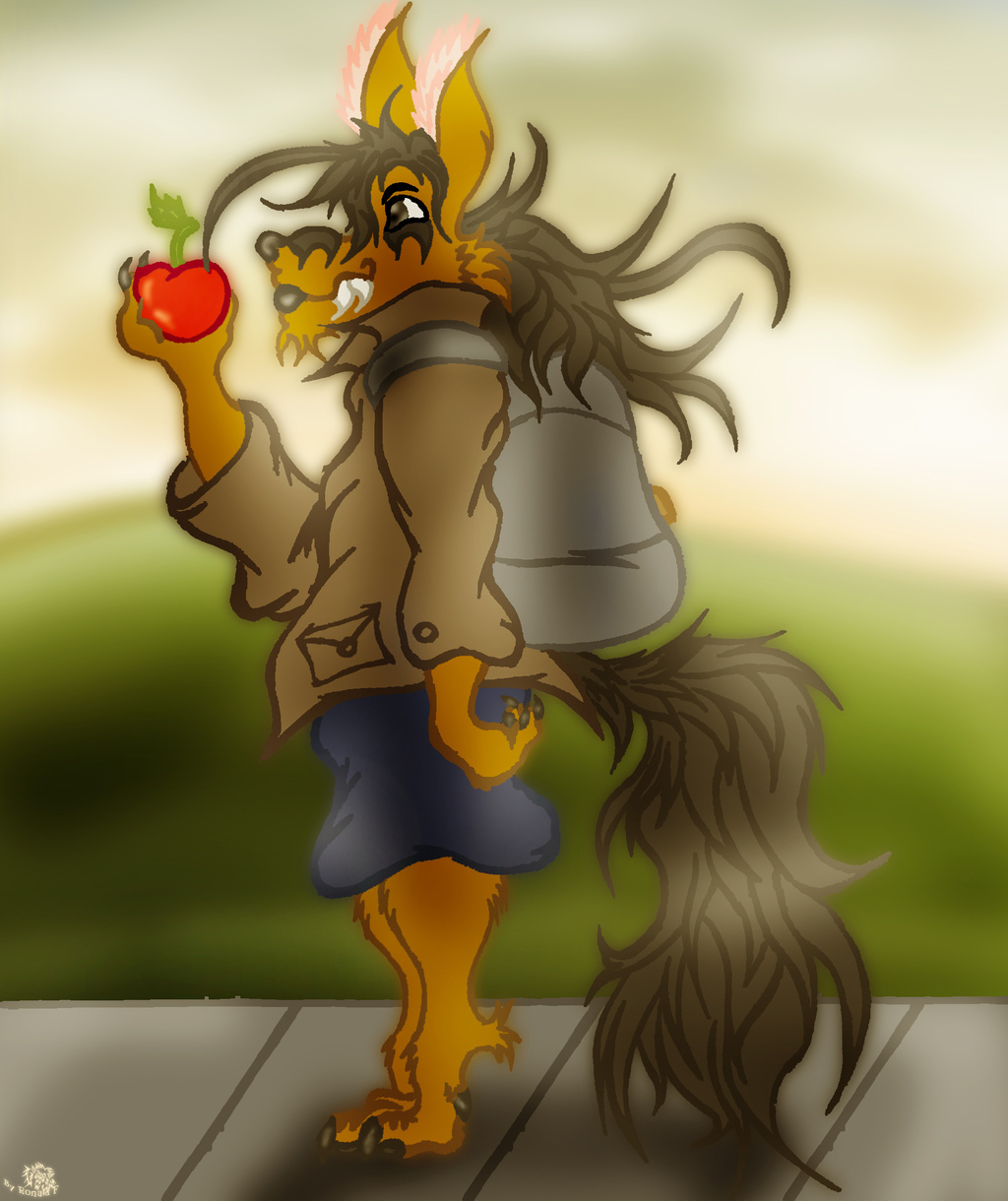 Most recent image: An Apple