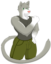 Feline Flexing