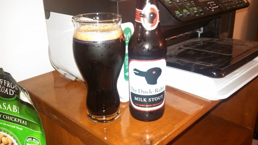 The Duck Rabbit, in all it's milk stout glory