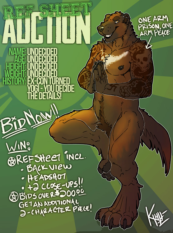 CHARACTER AUCTION! - Less than 6 hours left!