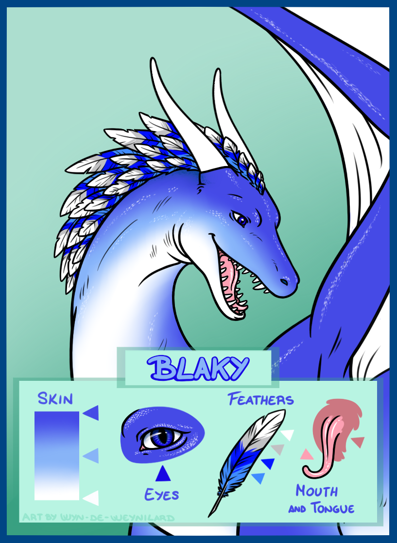 Most recent image: How my dear dragoness demands I should be drawn.