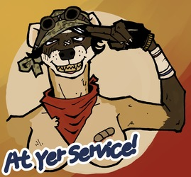 At Yer Service!