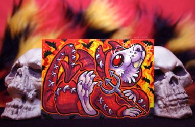 Drawtober: Day 18 - The Devil's Minion