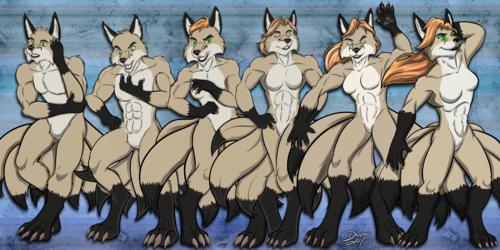 Kitsune Transformation