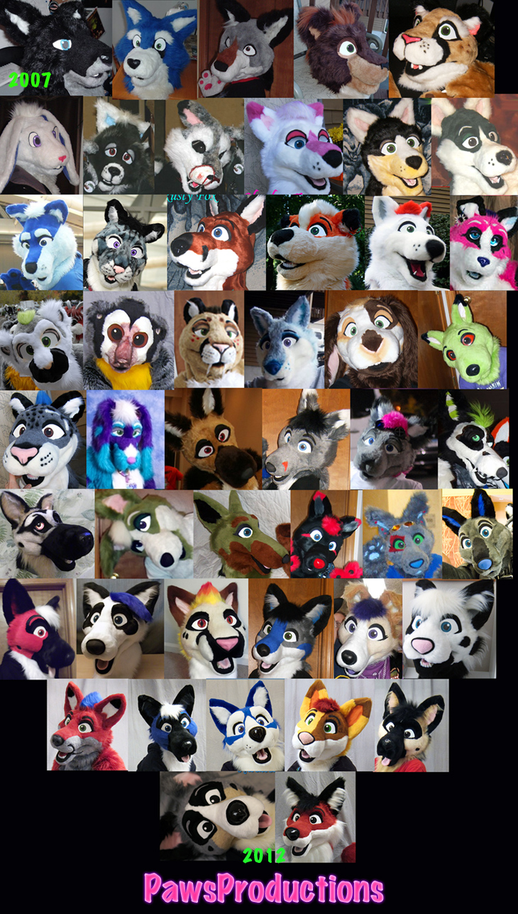 Fuzzy faces I'v made