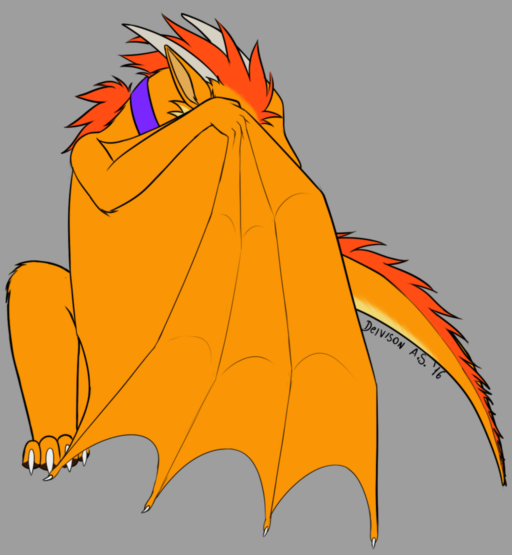 Most recent image: shy dragon