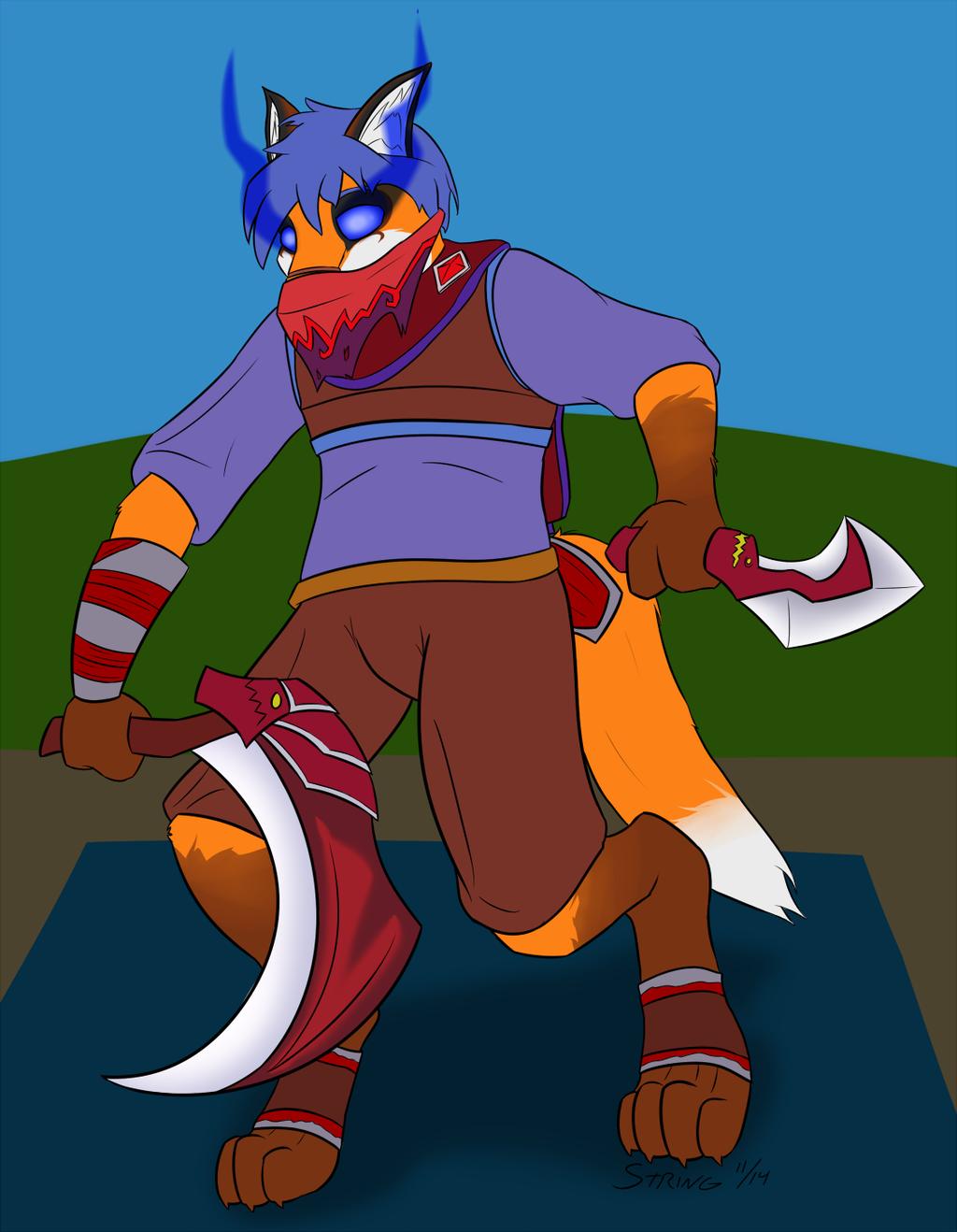 [Commission] Acheron as Riki
