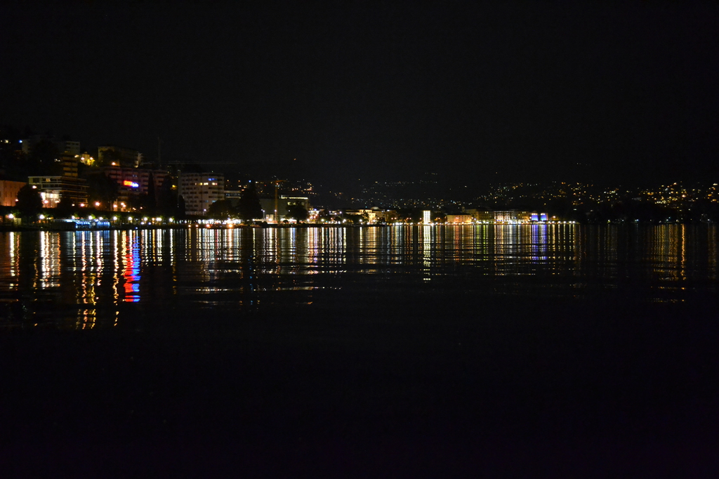 Most recent image: Locarno at night