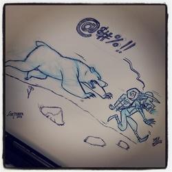 Inktober #4/Drawlloween 3- Goblin
