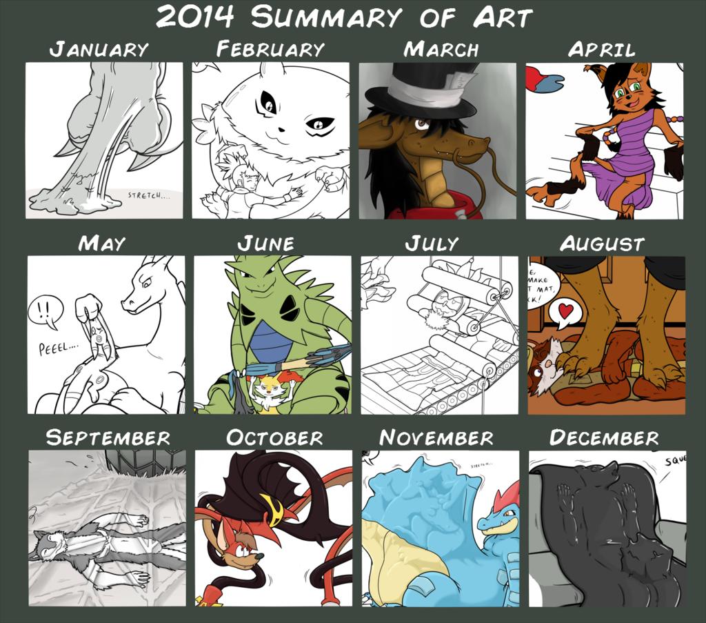 Chimeras's 2014 Summary of Art!