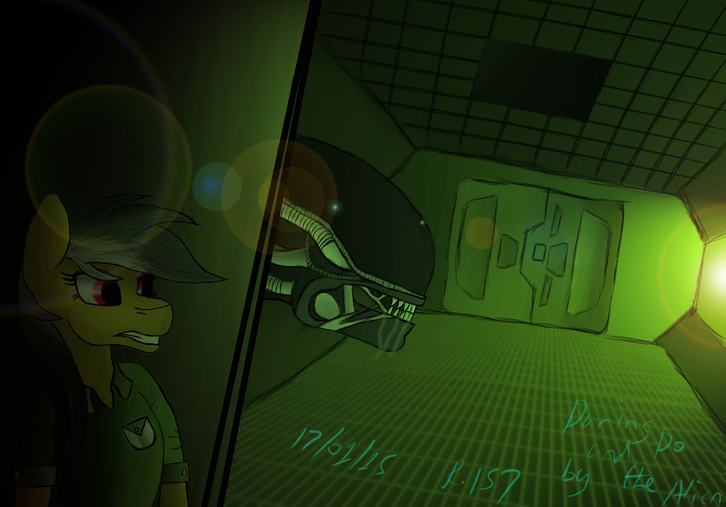 Daring Do and the alien