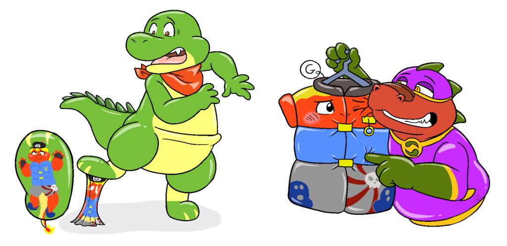 Lizard shenanigan