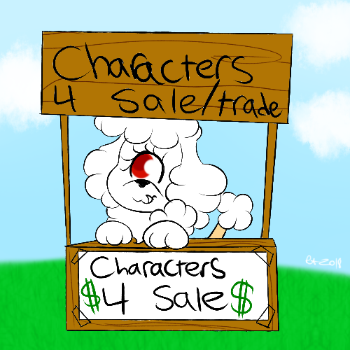 CHARACTERS FOR SALE/TRADE
