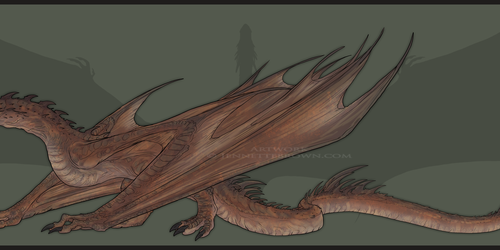Smaug - Full Body Reference