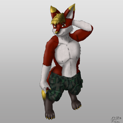 Comission - Mordecai the Fox (clean)