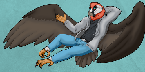 Bearded Vulture COMMISSION