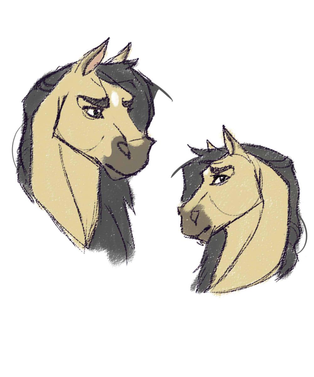Horse Scribbles