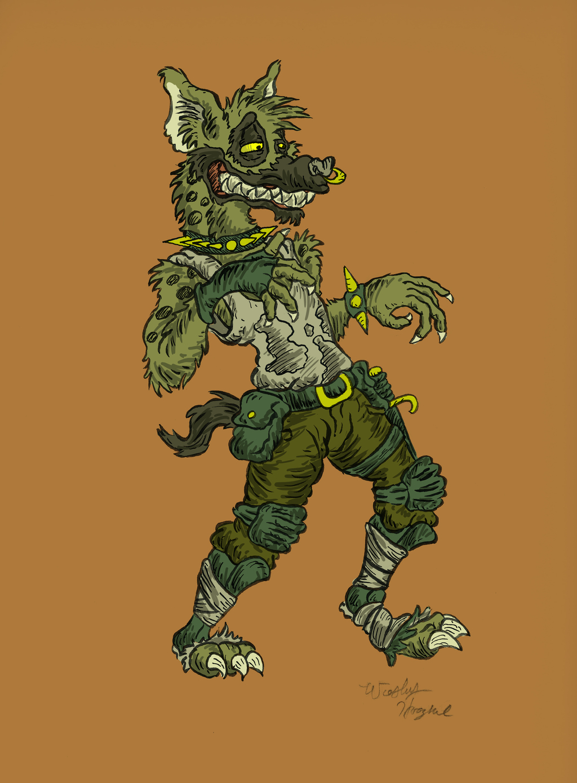 Grime the Hyena