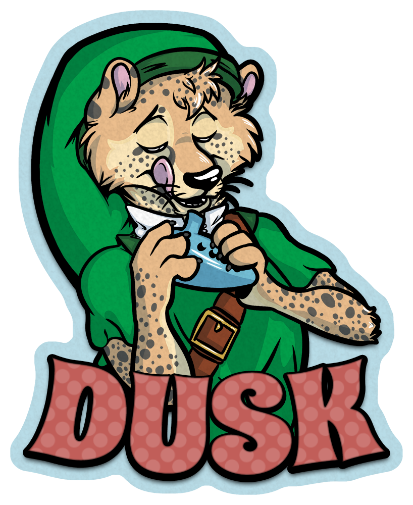 Badge - Dusk, hero of time