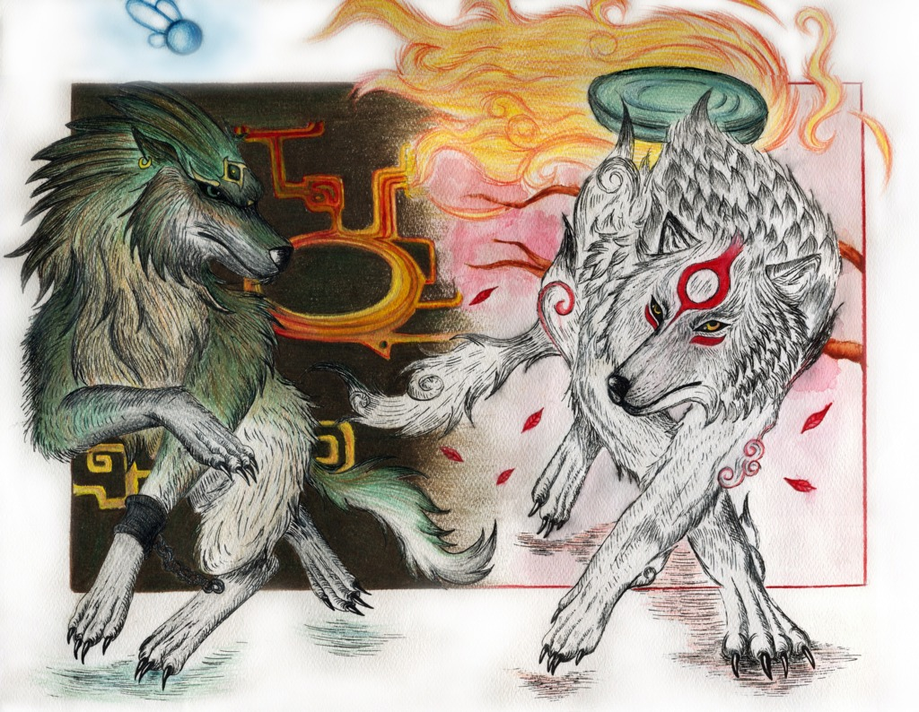 Ammy and Wolf Link