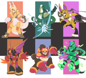 Reploid Commissions Batch 1