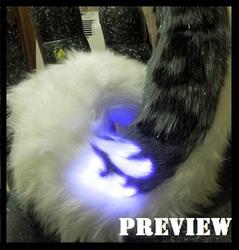 .:Preview glow husky leopard tail.: