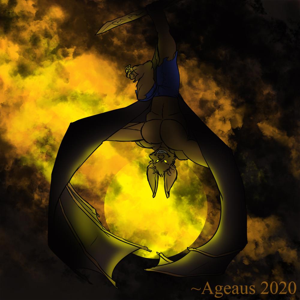 WERETOBER - Nightdragon by Ageaus