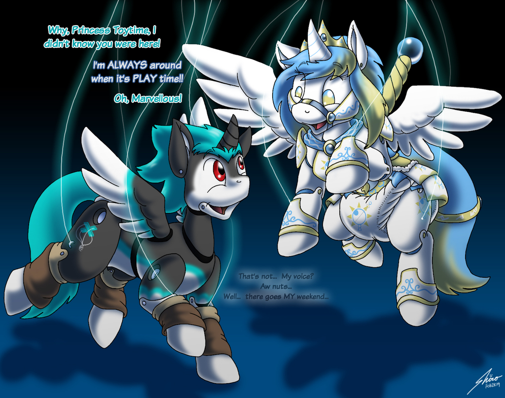 77Chaos77 Prancing pony puppet2