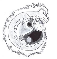 Request: Ying Yang Dragon